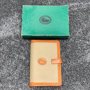 Dooney & Bourke vintage planner/agenda